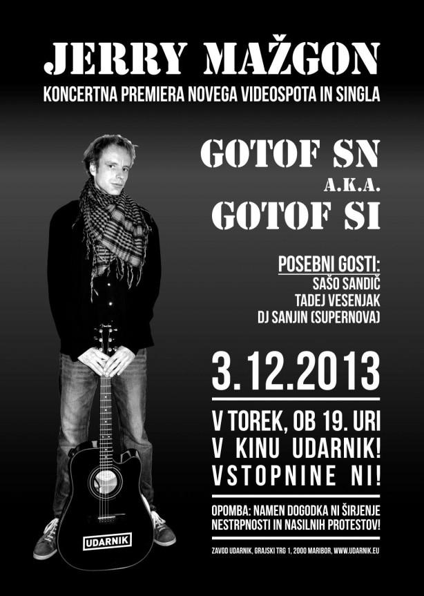2013.11. plakat gotof sn udarnik