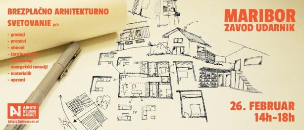 brezplacno arhitekturno svetovanje maribor-februar